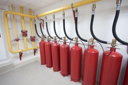 Преимущества использования систем газового пожаротушения